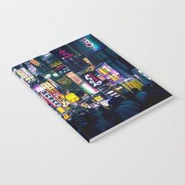 Neon Signs in Tokyo, Japan / Night City Series Notebook