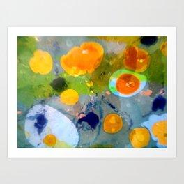 Bubbles 3 Art Print
