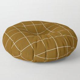 Minimal_LINES_EARTH Floor Pillow