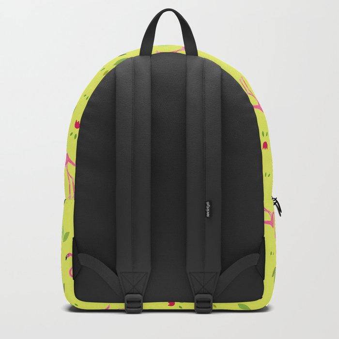 Flamingos and company Backpack