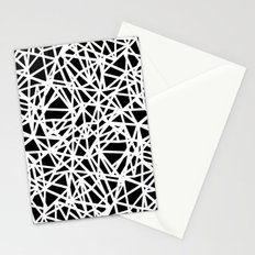 Ab Upside down Black Stationery Cards