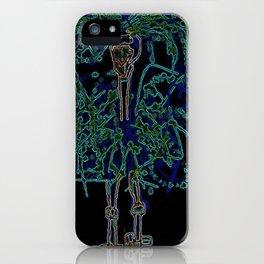 Neon Sally Rand iPhone Case