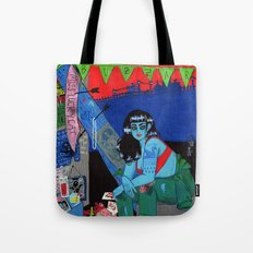 Bright as a Blade & Twice as Sharp Tote Bag