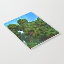 Bacterium Hedgerow Notebook