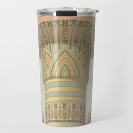 Egyptian Columns Travel Mug