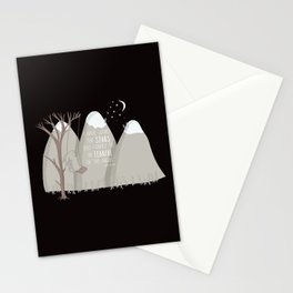 I have loved the stars too fondly to be fearful of the night Stationery Cards