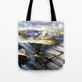 Saturday 11 May 2013: Now it is back to when seeing this was unfamiliar. Tote Bag