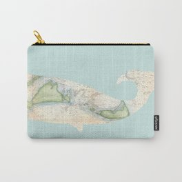 Nantucket Whale Carry-All Pouch