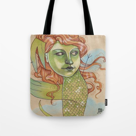 DANCING DRAGON Tote Bag