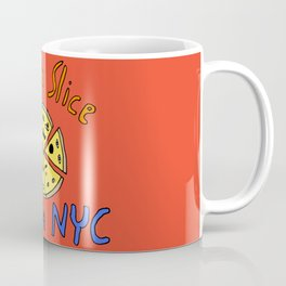 Take a slice (of pizza) out of New York City Coffee Mug