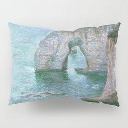 Claude Monet, French, 1840-1926 Manne-Porte, Etretat Pillow Sham