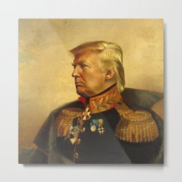 Donald Trump - replaceface Metal Print
