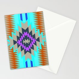 American Native Pattern No. 96 Stationery Cards