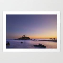 Battery Point Lighthouse, Crescent City, Del Norte County, California Art Print