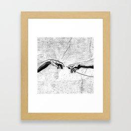 Creation of AUX Framed Art Print
