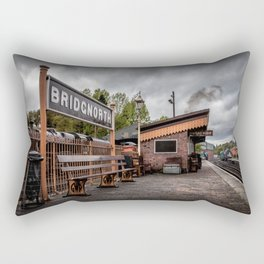 Bridgnorth Railway Station Rectangular Pillow