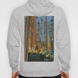 Vintage poster - Headwaters Forest Reserve Hoody
