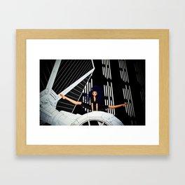 Tie Girl Framed Art Print