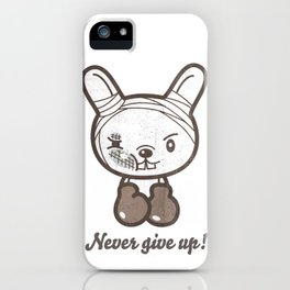 Boxing Bunny iPhone Case