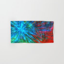 Abstract Big Bangs 001 Hand & Bath Towel