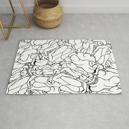 Fifty shades of Love (Light) Rug