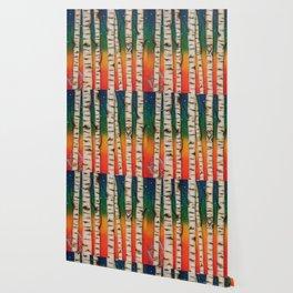 CHAKRA RAINBOW FOREST Wallpaper