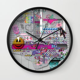 internetted2 Wall Clock