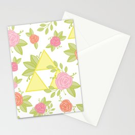 Garden of Power, Wisdom, and Courage Pattern Stationery Cards