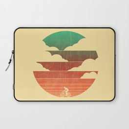 Go West (cycling edition) Laptop Sleeve