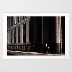 Financial District Art Print