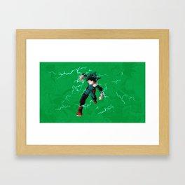 Deku - One for all Framed Art Print