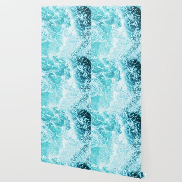 Perfect Sea Waves Wallpaper