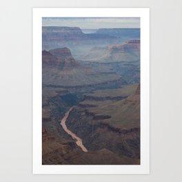 Smokey Canyon Art Print
