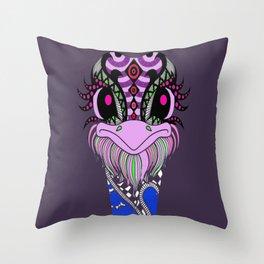 Ostrich Pattern Summer Throw Pillow