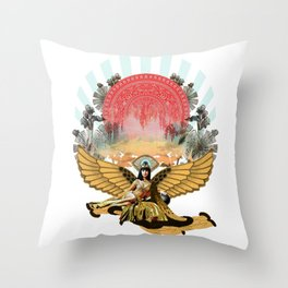Miss Cleo Throw Pillow