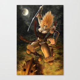 Beware the Amazon Canvas Print