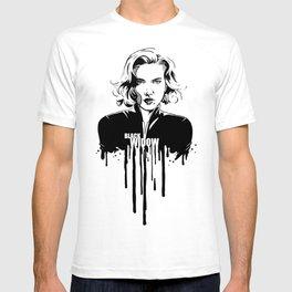 Fandom in Ink: Black Widow T-shirt