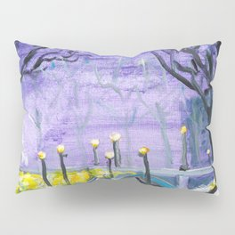 Night Freedom, Riga, Latvia Pillow Sham