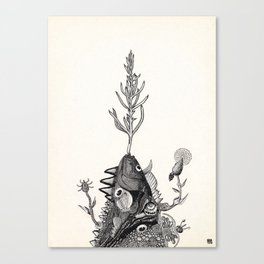 Oneness :: 3 Canvas Print