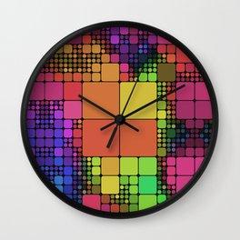 DISCO GEOMETRY  Wall Clock