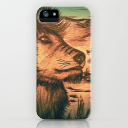 King of the jungle - Dusk iPhone Case