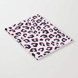 Leopard Print - Lavender Blush Notebook