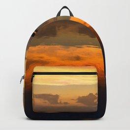 Sunset Symmetry Backpack