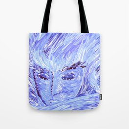 Frozen Man Tote Bag