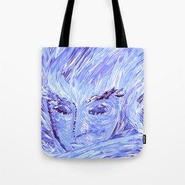 Frozen Man Tote Bag