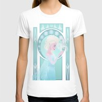 elsa T-shirts featuring Elsa by Shelby Wolf
