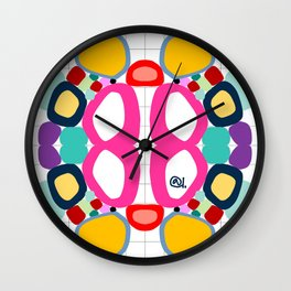 ON THE GRID Wall Clock