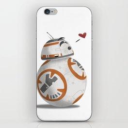 Droid Kisses iPhone Skin