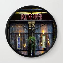 Jack the Ripper Pub Wall Clock