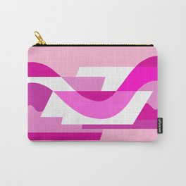 SUISSE - Art Deco Modern: PINK PANACHE Carry-All Pouch